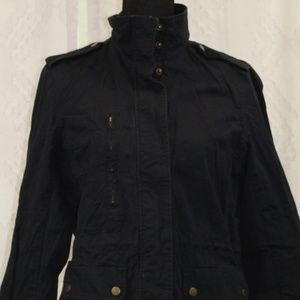 Forever 21 Navy Blue Long Sleeve Jacket